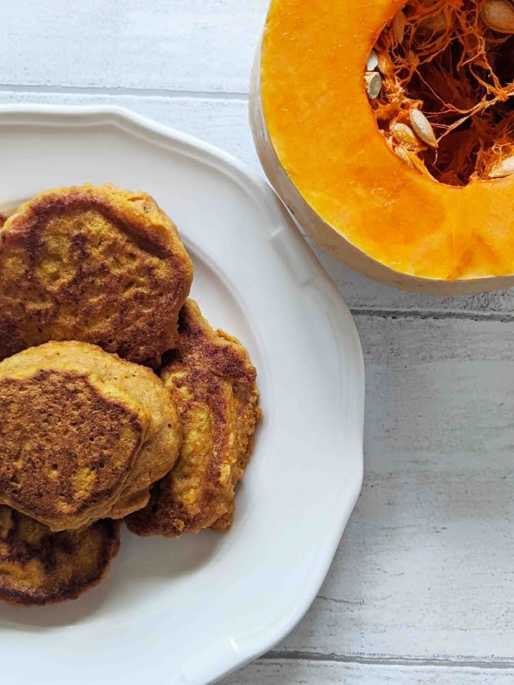 Stove-top sweet potato scones